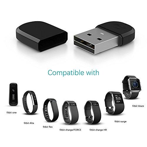 DHMXDC Wireless-Dongle Sync Fitbit Bluetooth Für Fitbit Flex/Flex2/Zip/Alta/Force/One/Charge HR/Surge/Charge 2/Blaze Synchronisation (Fitbit Sync)