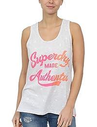 7b9465ee2530 Amazon.fr   Superdry - Débardeurs   T-shirts