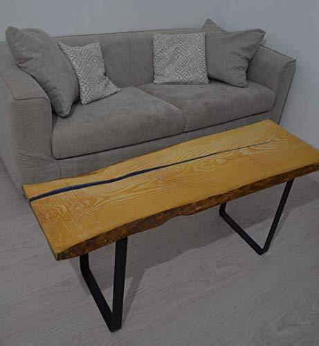 Rustikale Holz-tabellen (Kaffetisch rustikal Epoxidharz Couchtisch natürlich hölzern Tabelle holz design altholz baumstamm)