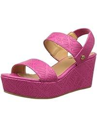 Love Moschino JA1627, Sandalias con Plataforma Mujer