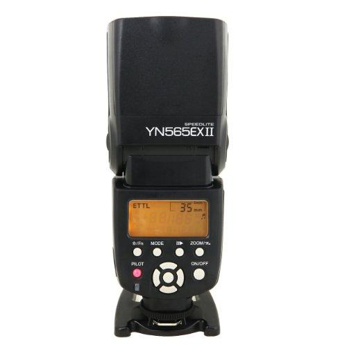 Yongnuo TTL YN565 EX II Flash per le fotocamere Canon 50D, 60D, 70D, 550D, 600D, 650D, 700D, 5D2, 5D3, 6D, 7D, 1D, 1DS, 1DX
