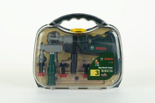 Theo Klein 8416 - Bosch Werkzeugkoffer, groß, transparent, Spielzeug - 2