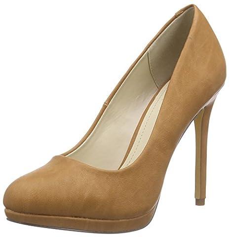 Another Pair of Shoes PiaaK2, Damen Plateau Pumps, Braun (mid brown21), 39 EU