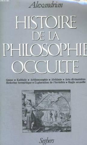 La Philosophie Occulte - HIST DE LA PHILOSOPHIE