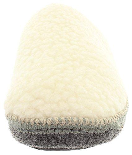 MIK Funshopping - Pantofole Donna Off White