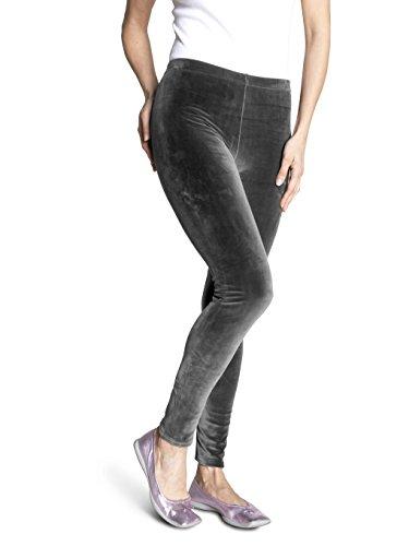 SOXON Nicki-Hose - Die flauschige Wohlfühl-Hose für jeden Tag (S/M, Grau)
