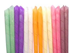 10 bougies auriculaires coniques -senteur à sélectionner