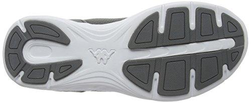 Gris Fiducia Unisex Calzature Mixte Bianco grigio Bassi Cesti Kappa Adulte U7qpY