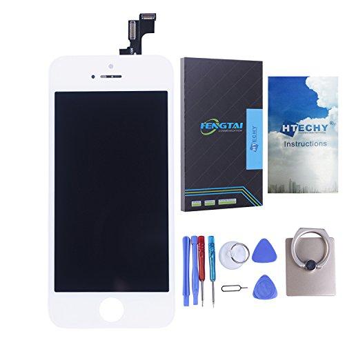 htechy-kit-de-rparation-ecran-pour-iphone-5s-lcd-blanc-retina-avec-vitre-tactile-haute-qualit-free-o