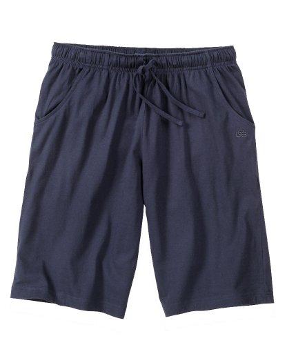 Ceceba Schlafanzug-Hose kurz Übergröße dunkelblau Blau