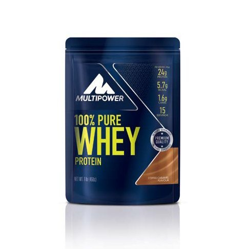 Multipower - 100 % Pure Whey 450 g Coffee Caramel 2er Pack...