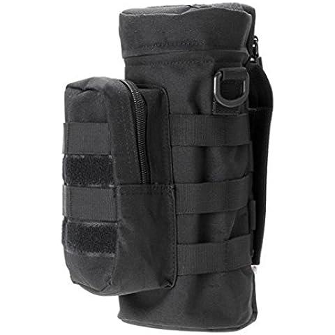 Kingko® Tempo libero sospensione molle sacchetto esterno regolabile pacchetto del sacchetto universale bollitore (Nero) - Anelli Aria Sportivo