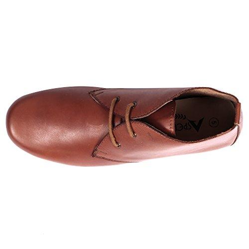 Aspele ,  Mädchen Damen Unisex Erwachsene Chelsea Boots Hautfarben