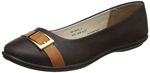 Bata Women's Side Buckle Ballet Flats