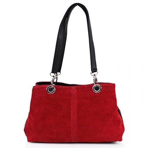 Elegant Fashions, Borsa a spalla donna Red