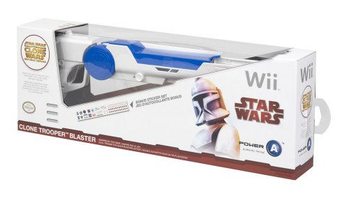 Wii - Clone Wars Blaster - 37CLOBL2 (Blaster Star Wars Trooper Clone)