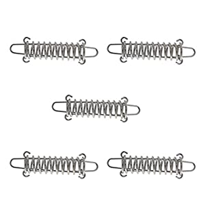 41u4WhBSZBL. SS300  - MagiDeal 5pcs Heavy Duty Stainless Steel Camping Awning Tent Rope Tensioner/ Tightener Tightening Spring