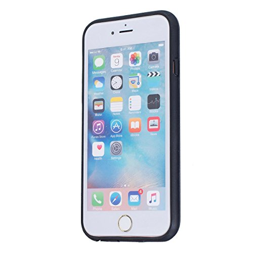 MOONCASE IPhone 5 / 5S / iPhone SE Hülle, Dual Layer Soft TPU + Rutschfest Hart PC Schale Anti-Shock Defender Schutz Tasche Schutzhülle Case für iPhone 5G / 5S / SE Grau Grau