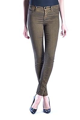 J Brand Women's MCBI159001O Brown Cotton Jeans
