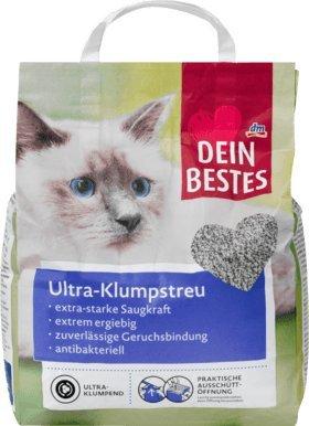 Dein Bestes Katzenstreu, Ultra-Klumpstreu naturweiß, 6 l