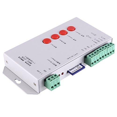 Light Controller, T-1000S Card Card Full Color LED Controller, DC 5V / DC 7.5-24V