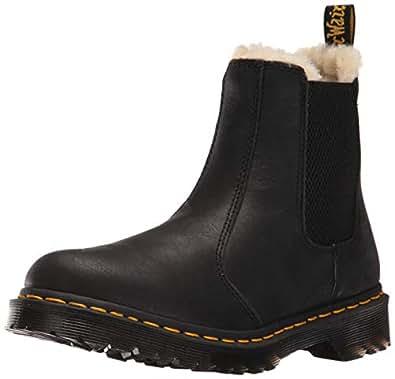 6de4a93c69d74f Dr. Martens Damen 2976 Leonore Chelsea Boots Schwarz 36 EU  Amazon ...