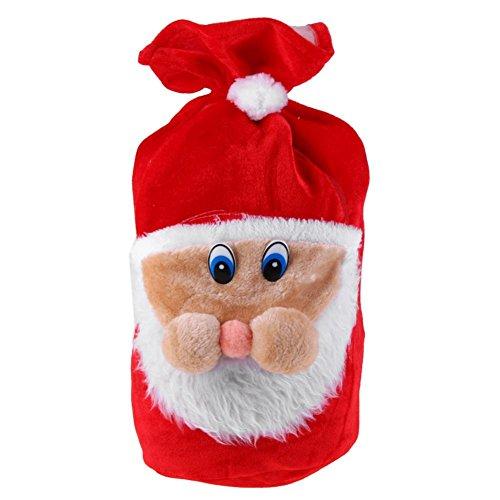 Unterbrechen Weihnachten Geschenk Tüte bestickt Samt Santa Geschenk Taschen Beutel Weihnachten Decor -