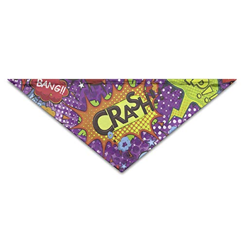 et Bandana Triangle Dog Cat Neckerchief Bibs Scarfs Accessories for Pet Cats and Baby Puppies ()