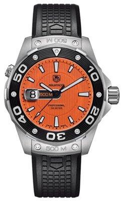TAG-Heuer-Herren-Armbanduhr-Analog-Gummi-Schwarz-WAJ1113FT6015