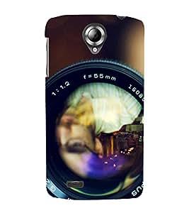 Takkloo Digital Camera ( Lens of Camera, nice camera, Black camera, Wide angle closeup of zoom) Printed Designer Back Case Cover for Lenovo S820