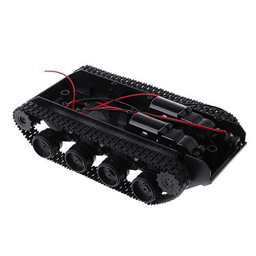 Junlinto, Dämpfung Balance Tank Roboter Chassis Plattform Fernbedienung DIY Für Arduino