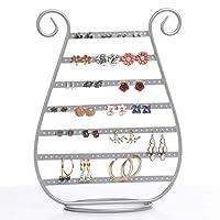 Mango Steam Earring & Jewellery Tower Organiser (Silver)