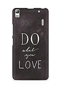 AMEZ do what you love Back Cover For Lenovo K3 Note