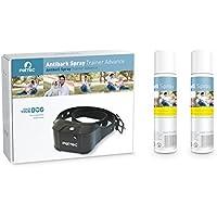 PetTec Antibark Spray Trainer Advance Antibell Erziehungshalsband mit automatischem Sprühsignal inkl. 2x Nachfüllspray