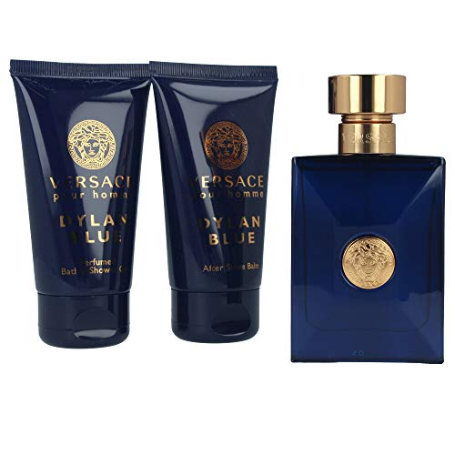 Versace - versace dylan blue eau de toilette spray 50ml set 3 parti 2019