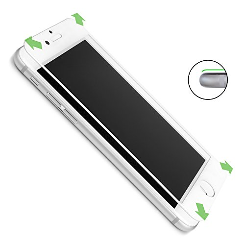 CASEual, Full Glass V2 iPhone 6/6s weiß Weiß