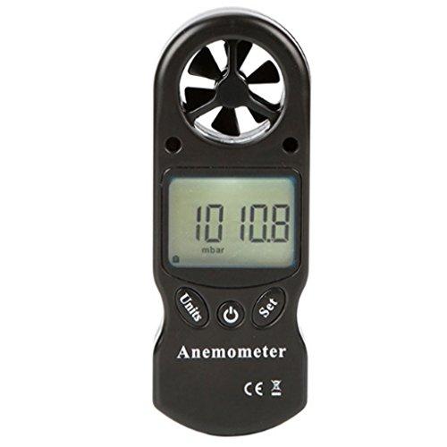 Anemómetro Digital 8 en 1 Barómetro Altímetro Temperatura Humedad Anemómetro Informe Termómetro...