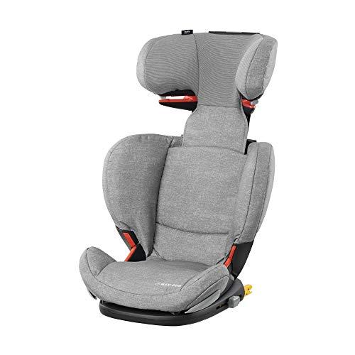 Maxi.Cosi RodiFix AirProtect (AP) Kindersitz, mitwachsender Gruppe 2/3 Autositz (15 - 36 kg), ISOFIX-Sitzerhöhung mit Seitenaufprallschutz, nutzbar ab 3,5 - 12 Jahre, nomad grey