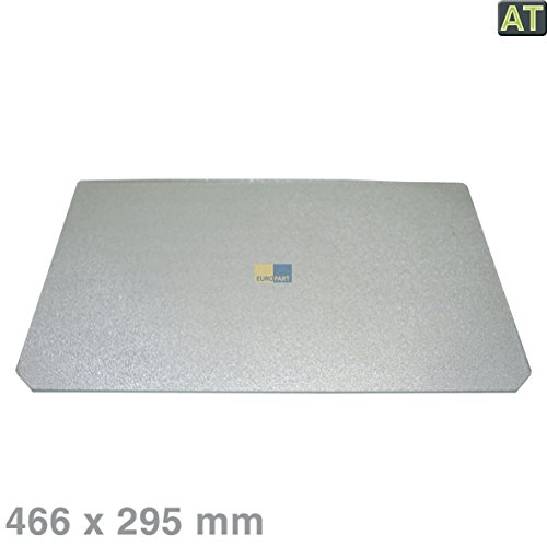 Original Indesit Hotpoint Ariston Glasplatte Abdeckplatte Gemüsefach Kühlschrank 466x296mm - C00280888