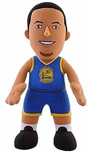 Stephen Curry (Golden State Warriors Maillot Bleu 10 cm en peluche douce Bleacher Creatures lecteur NBA