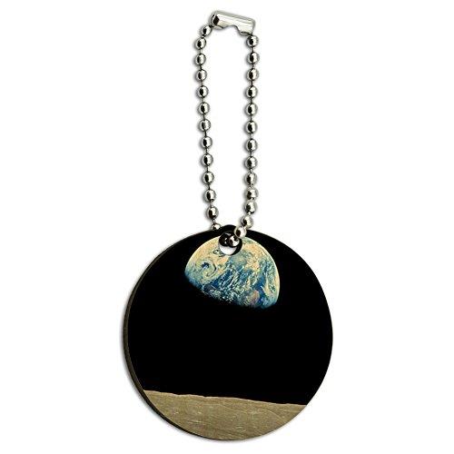 earth-se-lever-plus-de-surface-lunaire-horizon-en-bois-rond-en-bois-cle-chaine