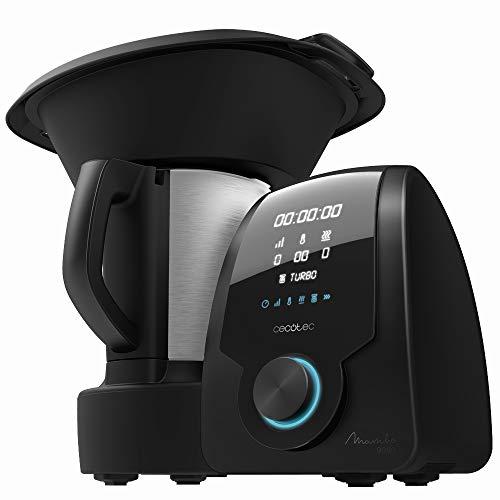 Cecotec Robot de Cocina Multifunción Mambo 9090. Jarra Habana con Revestimiento Cerámico, 1700 W, 3.3 litros, Acero 18/10, 10 Velocidades, Multicolor
