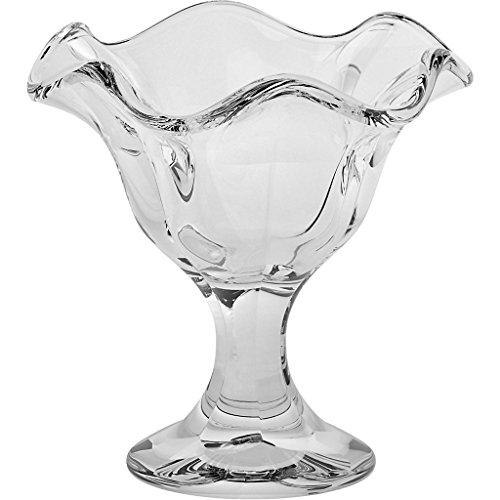 Copas de helado, Copas de vidrio, ~LILY~ transparente, 14 cm, Vidrio t