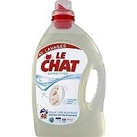 Le Chat Lessive liquide Sensitive 0% Le bidon de 3 l Prix Unitaire - Envoi Rapide Et Soignée
