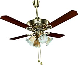 Crompton Oberon Ceiling Fan (Antique Brass)