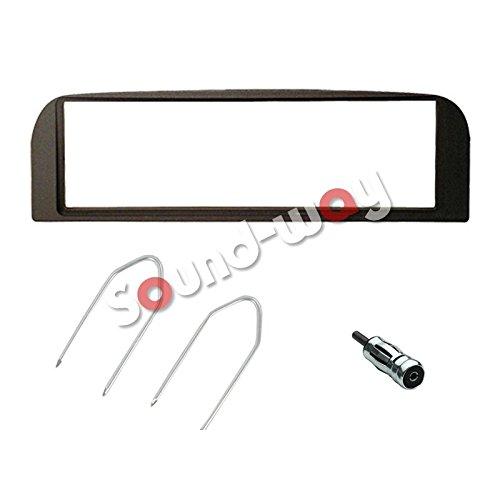 Kit montaggio autoradio 1 DIN per Alfa Romeo 147 / ALFA GT - Black line colore grigio scuro antracite