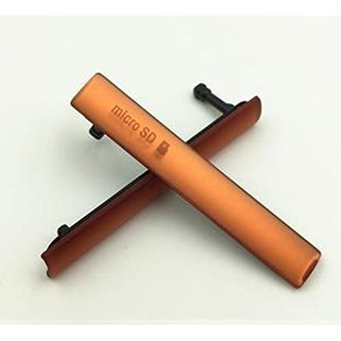 Tapones antipolvo Giffonque Sim ranura para tarjeta Micro SD USB para Sony Xperia Z3 Compact D5833 D5803
