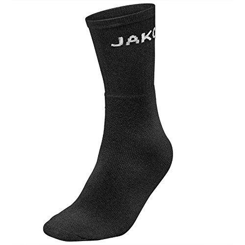 JAKO Sportsocken Basic 3er Pack schwarz - 35-38