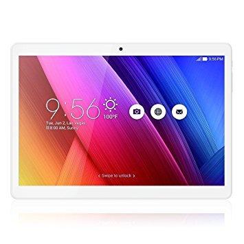 10 1 inch Tablet Unlocked 3G Phone Tablet PC Android 6 0 MTK 6580 GPS Quad  Core HD 1280X800 IPS Screen Bluetooth RAM 1GB ROM 16GB Dual sim card