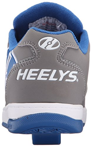 Heelys Propel 2.0, Sneakers Basses Fille Grey royal white
